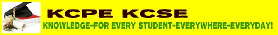 KCPE-KCSE
